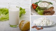 Домашние молочные продукты.