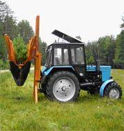 Машины (оборудование) для пересадки (посадки) деревьев на базе трактор