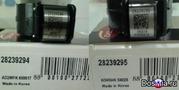 Клапана   форсунок   DELPHI(Korea)28239294(евроIII) и 28239295(евро IV
