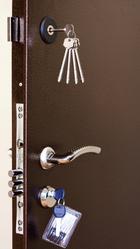 Дверь металлическая утепленная с шумоизоляцией