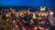 Новогодние каникулы в Праге с 3 по 11 января , с изучением англиского
