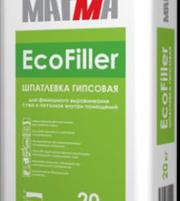 Продается финишная гипсовая шпаклевка EcoFiller