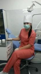 Зубной врач , с  опытом работы.