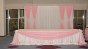 Оформление банкетных залов для свадеб, проводов, юбилеев