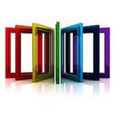 Цветной профиль для пластиковых окон