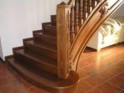 Изготовление деревянных лестниц любой сложности