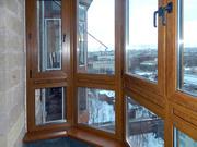 Остекление балконов,  Балкон пластиковый в Караганде
