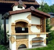 Строительство уличных печей барбекю в Караганде