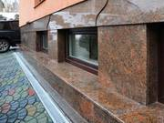 Облицовка фасадов травертином,  гранитом,  мрамором
